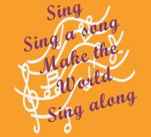 Sing Sing along, Make the World Sing along T-Shirt