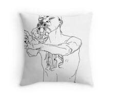 Gangsta Throw Pillow