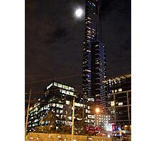 Eureka Tower by night Photographic Print