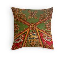 Gloucester Cathedral – St Andrews Chapel Ceiling Throw Pillow