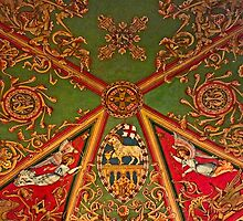 Gloucester Cathedral – St Andrews Chapel Ceiling by Yampimon