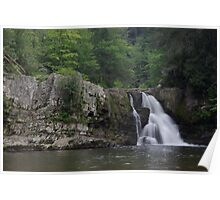 Abram's Falls Poster
