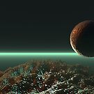 Planet scene by humanwurm