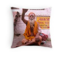 Guru Throw Pillow