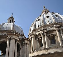 Dome of St Peter's Basillica by j0sh