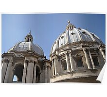 Dome of St Peter's Basillica Poster