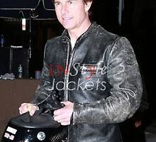 Pure Leather Jacket-An exact replica as worn by Tom Cruise!  by susan micle