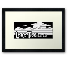 Lake Titticaca Funny Geek Nerd Framed Print