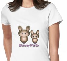 Bunny Parts Womens Fitted T-Shirt