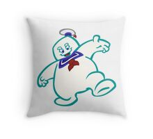 Stay Puft: Livin' Large Throw Pillow