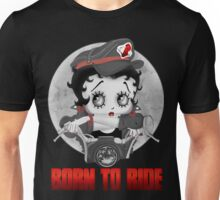 Betty Boop Motorcycle Unisex T-Shirt