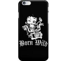 Betty Boop Motorcycle iPhone Case/Skin