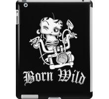 Betty Boop Motorcycle iPad Case/Skin