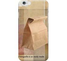 paper sack iPhone Case/Skin