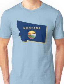 montana state flag Unisex T-Shirt