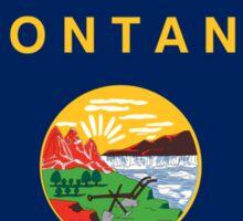 montana state flag Sticker