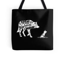Man is a wolf to man Tote Bag