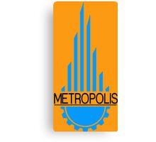 Metropolis Funny Geek Nerd Canvas Print