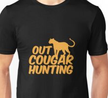 out COUGAR hunting Unisex T-Shirt