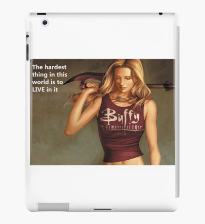 Buffy Quotes iPad Case/Skin