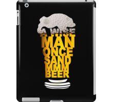 MMM BEER! Funny Geek Nerd iPad Case/Skin