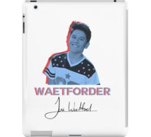 Hologram Waetford iPad Case/Skin