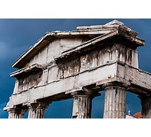 Stormy Rome in Greece Photographic Print