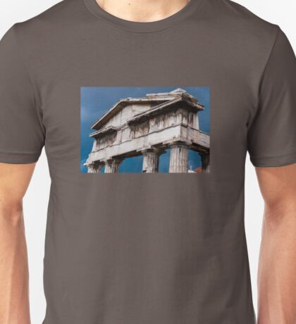 Stormy Rome in Greece Unisex T-Shirt