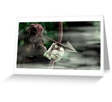 Robin the Hooded Man Greeting Card