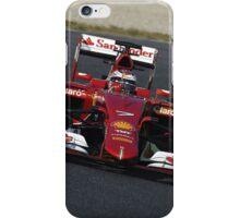 Ferrari F1 Kimi Raikkonen iPhone Case/Skin