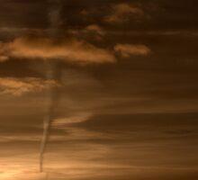 Sunset Pseudo Tornado by Steiner62