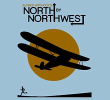 North by northwest Funny Geek Nerd Unisex T-Shirt
