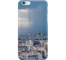 Stormy day in Athens iPhone Case/Skin