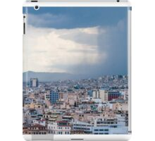Stormy day in Athens iPad Case/Skin