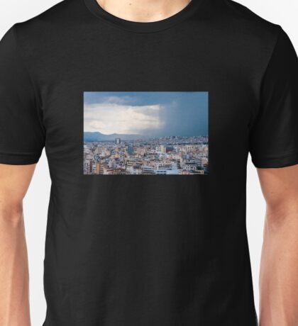 Stormy day in Athens Unisex T-Shirt