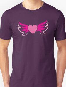 Flying winged heart Unisex T-Shirt