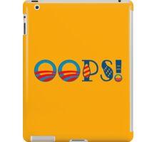 OOPS! Funny Geek Nerd iPad Case/Skin