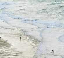 Strolling the Surf by WebVivant