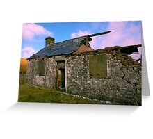 Ruin in the Dales #2 Greeting Card
