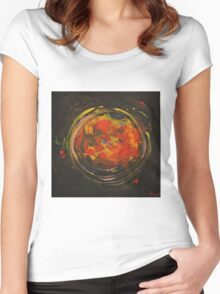 Black Sun Women's Fitted Scoop T-Shirt