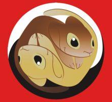Tao and Zen - Yin Yang Version 2 Kids Tee