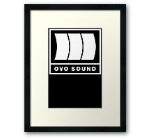 Ovo Sound Logo Funny Geek Nerd Framed Print