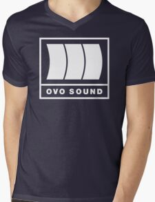 Ovo Sound Logo Funny Geek Nerd Mens V-Neck T-Shirt