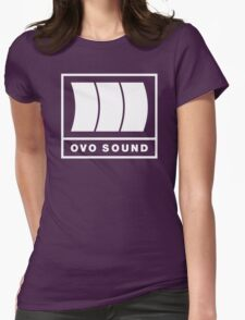 Ovo Sound Logo Funny Geek Nerd Womens Fitted T-Shirt