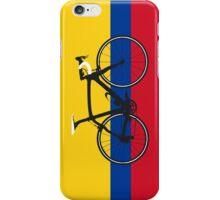 Bike Flag Colombia (Big - Highlight) iPhone Case/Skin