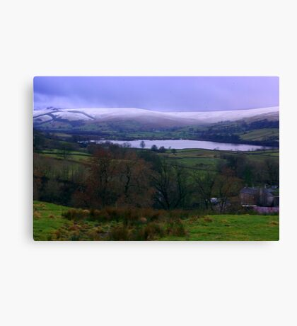 Semer Water - Yorkshire Dales Canvas Print