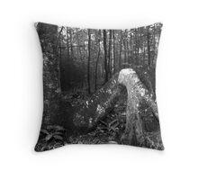 Tree Feet Throw Pillow