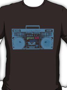 Green Left Radio (black background version) T-Shirt