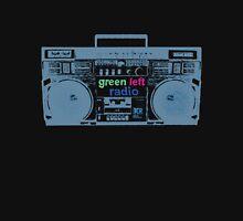 Green Left Radio (black background version) Unisex T-Shirt