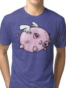 the flying pig Tri-blend T-Shirt
